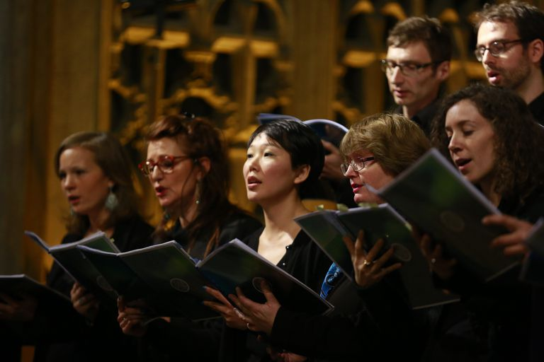 choir in a church, Paris