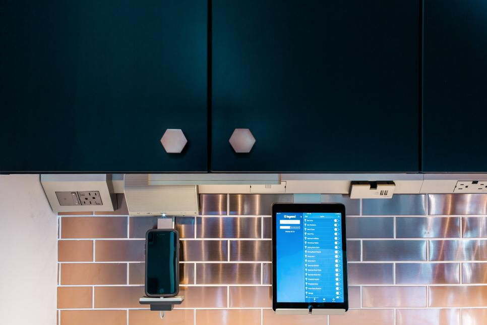 Image of Smart Tech in the HGTV Smart Home 2017's Kitchen