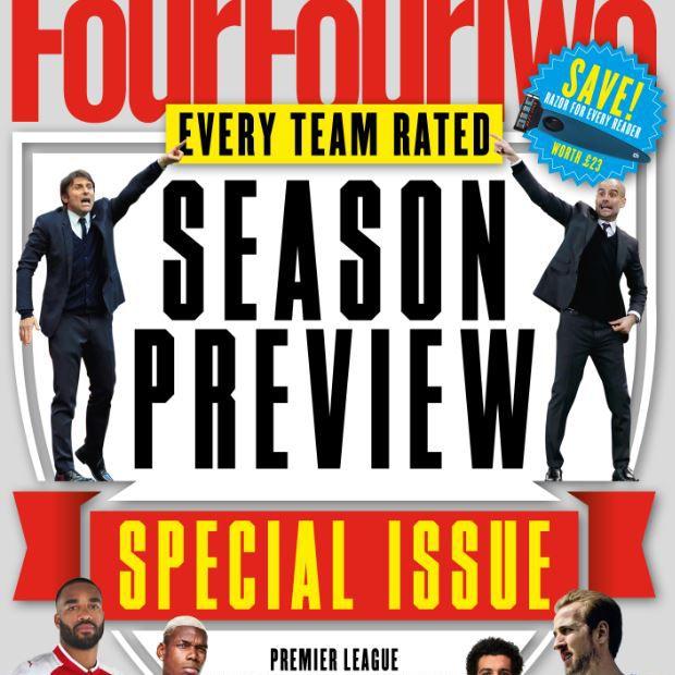 Cover art for FourFourTwo magazine
