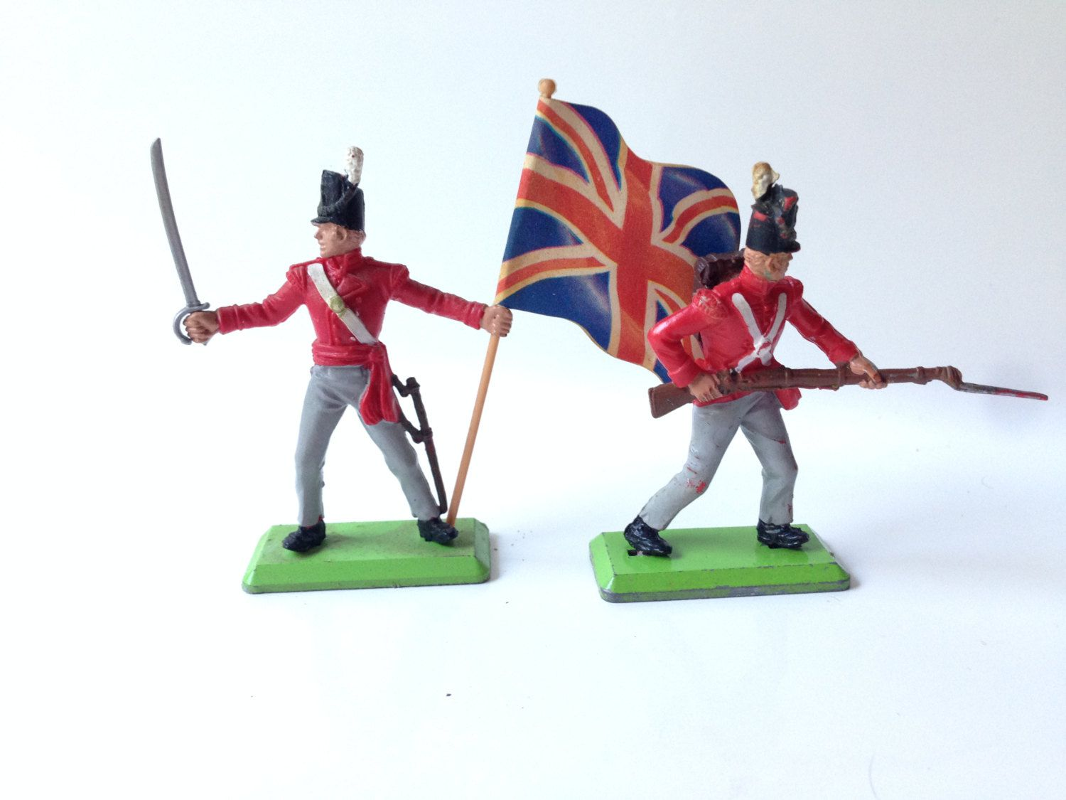 Britains Deetail 1970s Toy Soldiers