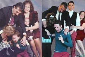 Awkward Family Photos recreated