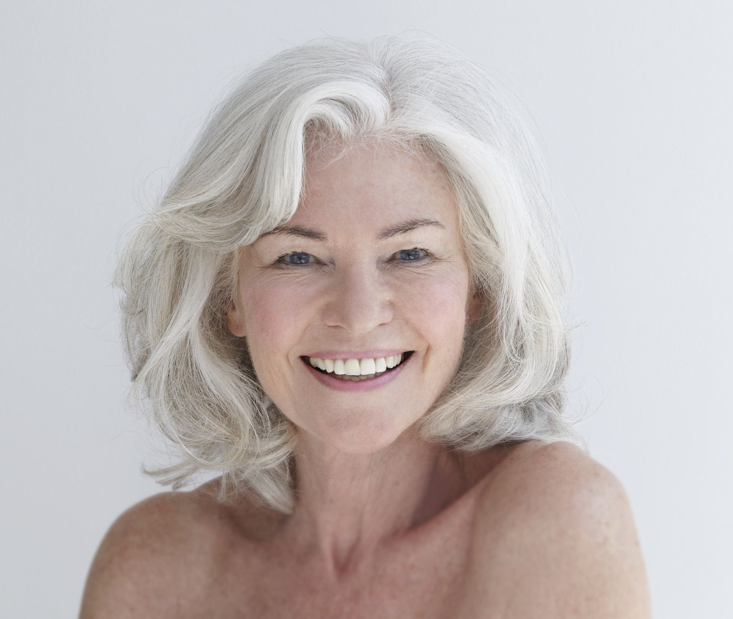 medium length hairstyles for older women with thin hair