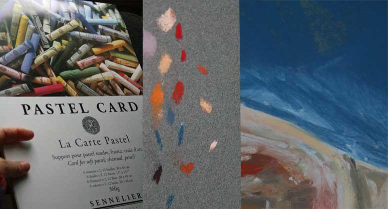Pastel painting art supplies