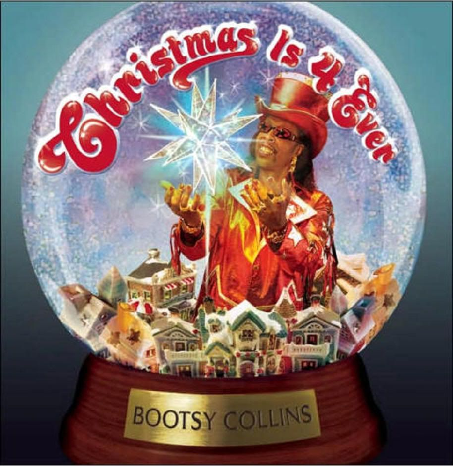 Bootsy Collins Christmas album cover.