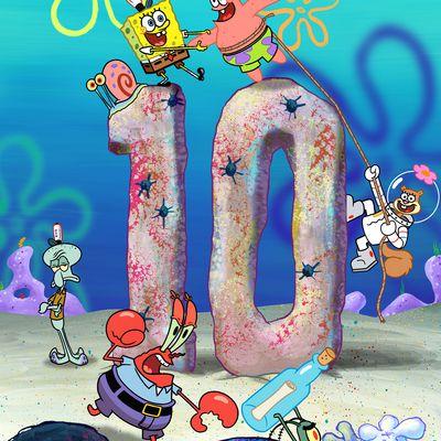 SpongeBob SquarePants - 10th Anniversary