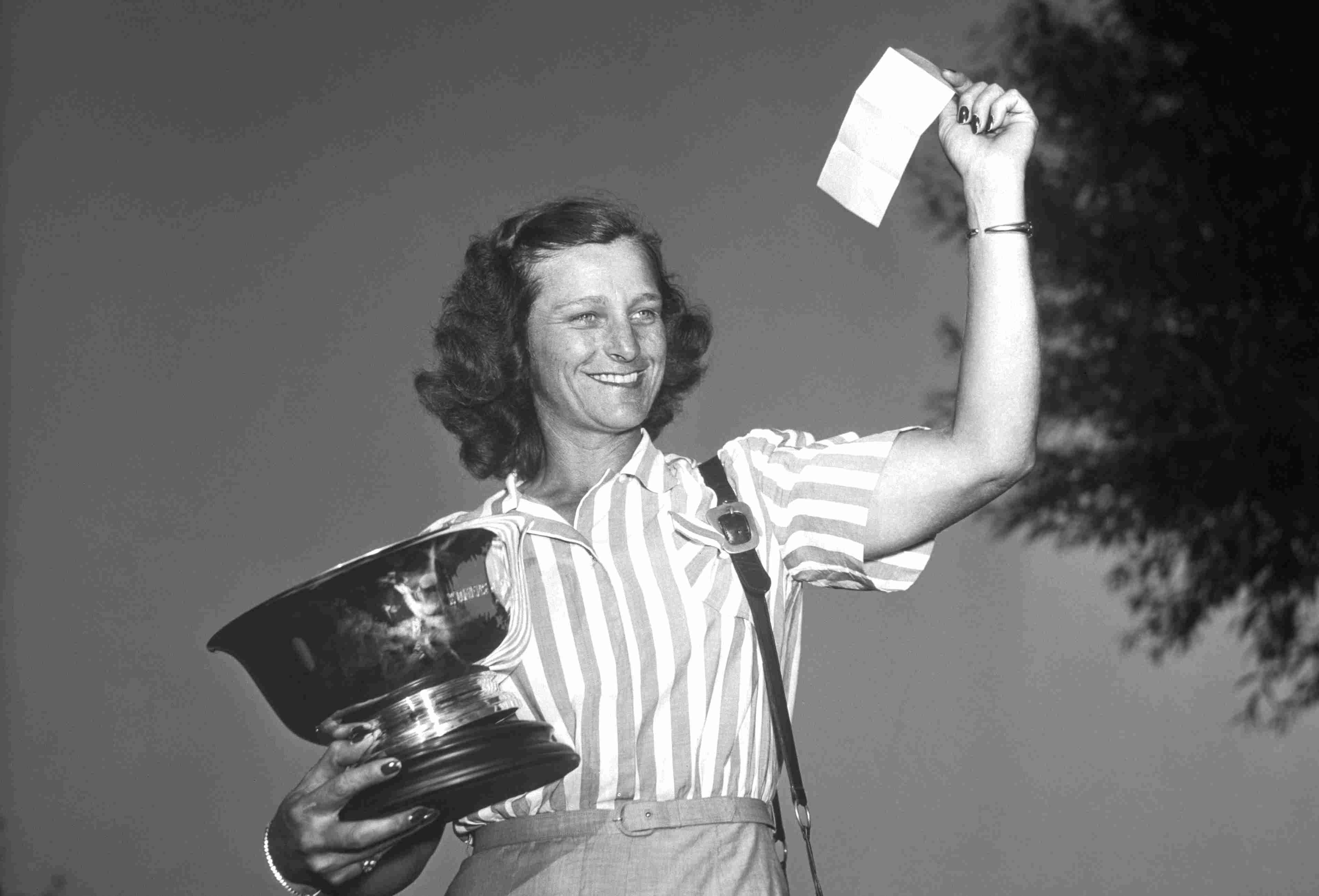 One of the LPGA's founders, Babe Didrikson Zaharias