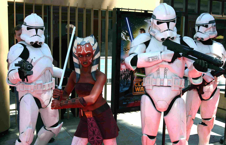 Premiere Of Warner Bros. 'Star Wars: The Clone Wars' - Arrivals