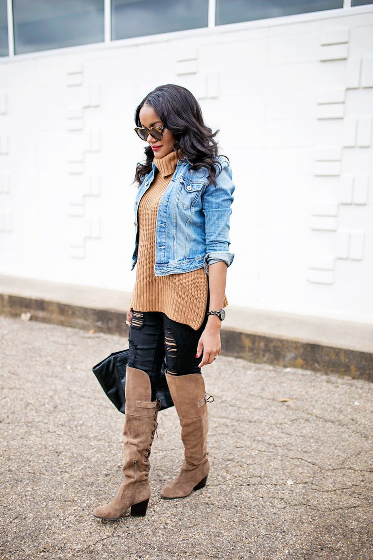 66800446832 21 Cute Outfits With Jeans to Wear This Winter