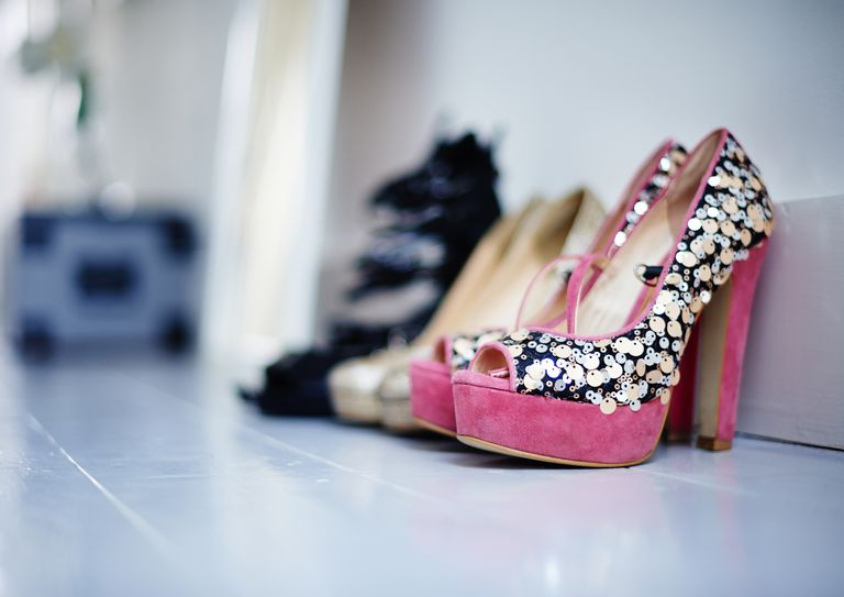 Storing Dressy Shoes On a Shelf
