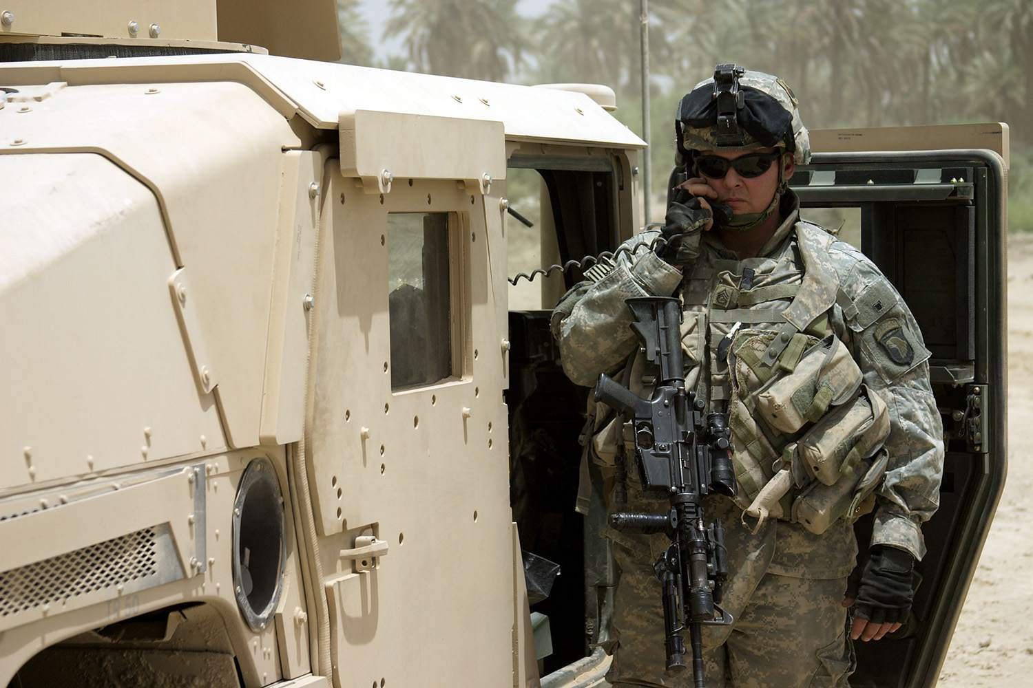 Us Army Armored Soldier