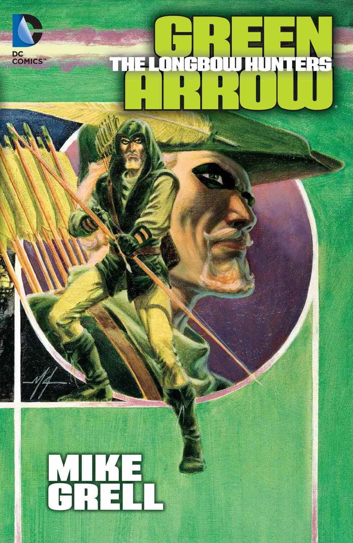 Green Arrow comic book cover.