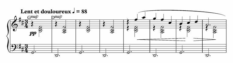Erik Satie's Gymnopédie 1