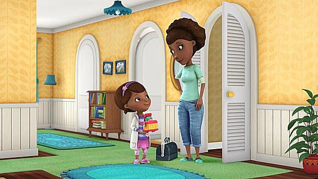 Doc McStuffins and Her Mom