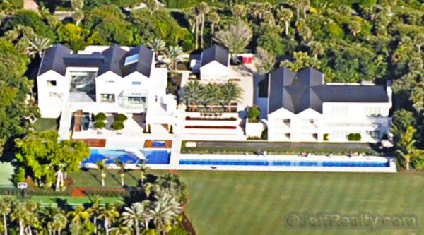 Another look at the Tiger Woods' house in Jupiter Island, Florida