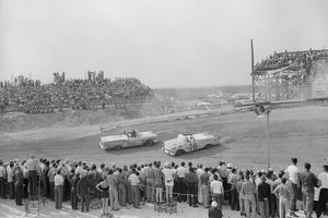 View of National Association of Stock Car Racing in 1957