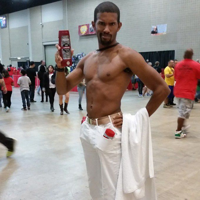Old Spice Guy Costume