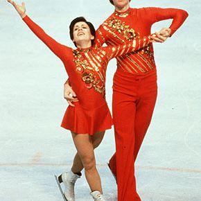 Irina Rodnina and Alexandr Zaytsev