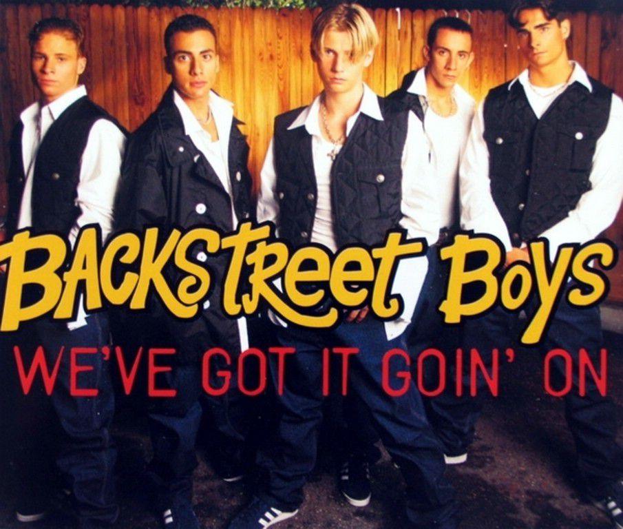 Backstreet Boys We've Got It Goin' On