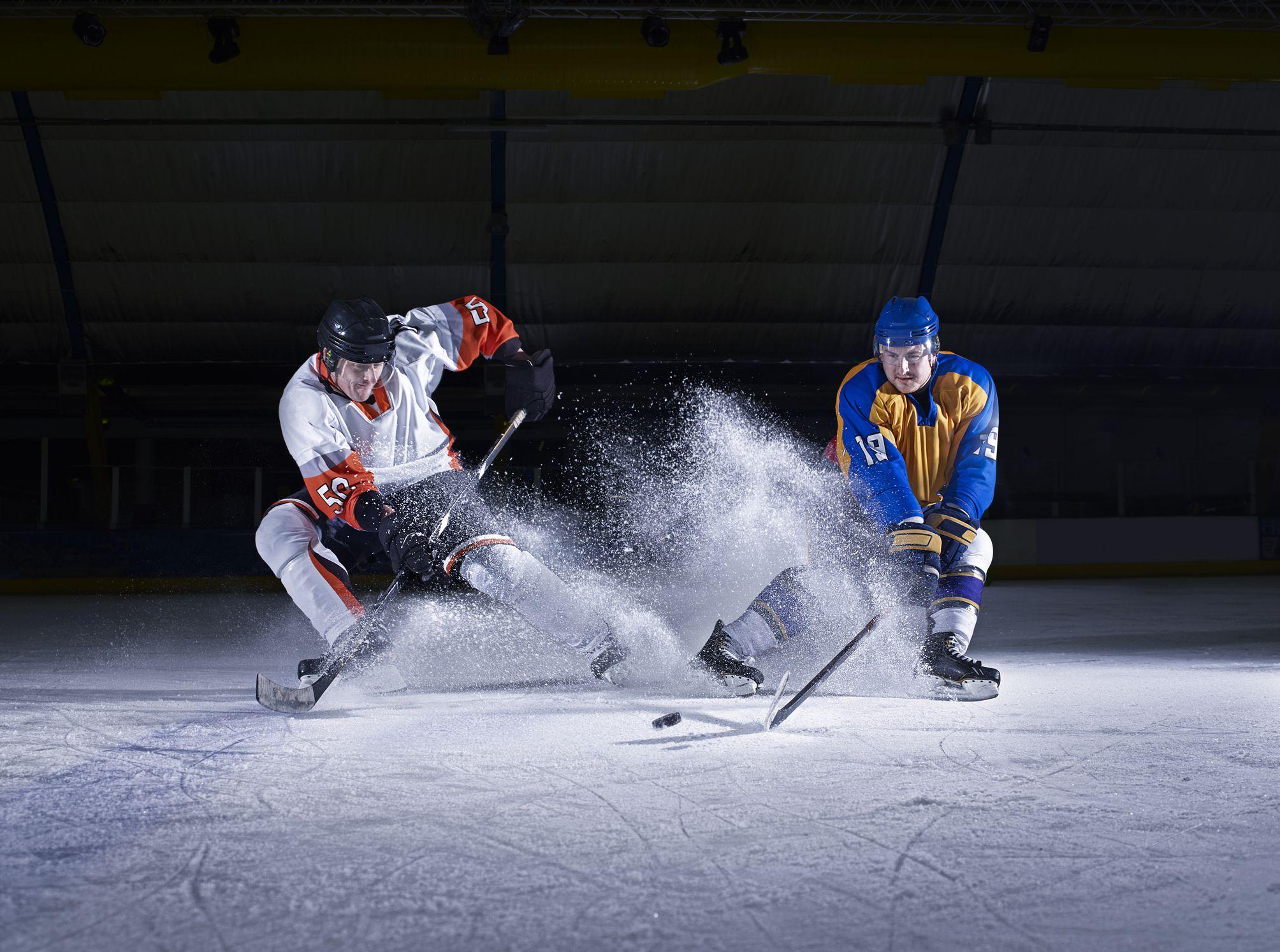 Как фотографировать на хоккейном стадионе
