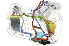The Twin-Cooled engine