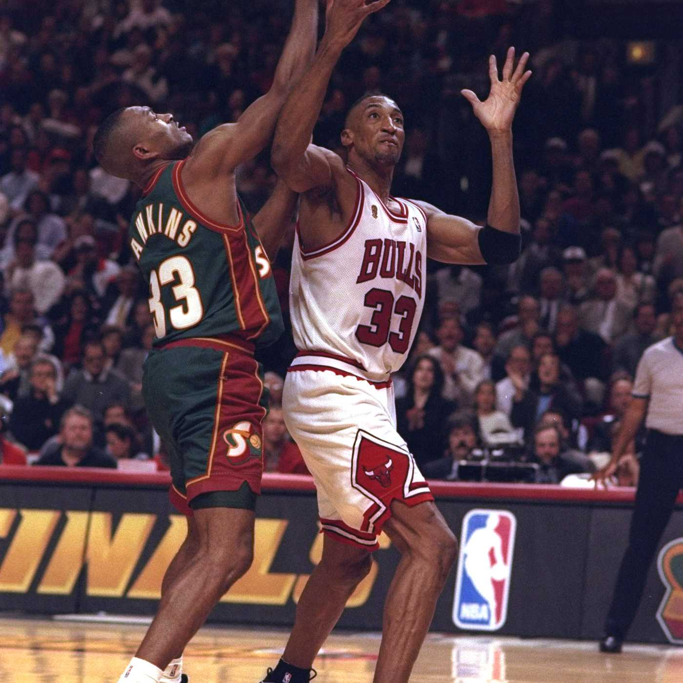 Scottie Pippen's Nike air more uptempo