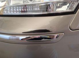 scuffed bumper paint