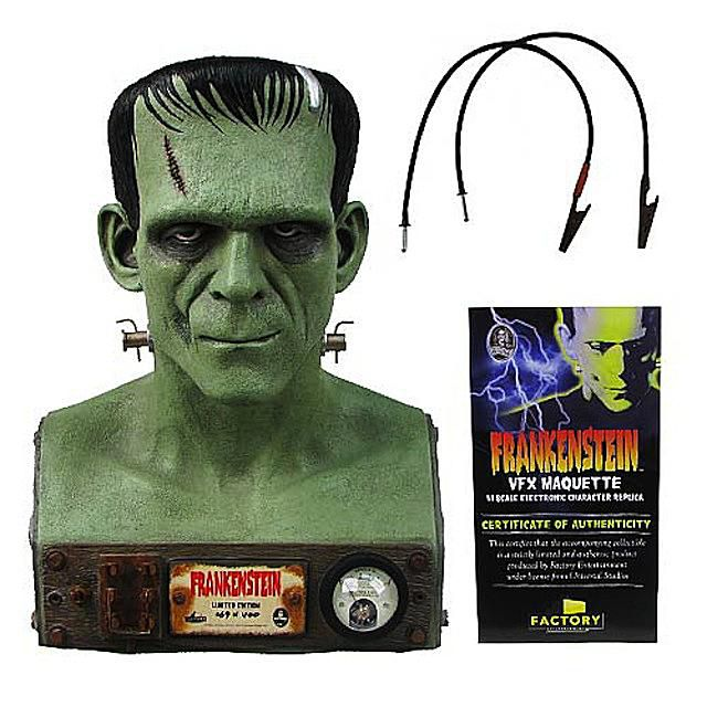 Electronic Frankenstein Bust