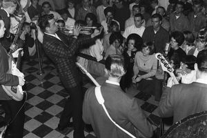 Dick Dale performing with the Del-Tones.