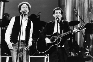 Simon And Garfunkel Perform In Central Park