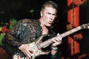 Guitarist and musician George Lynch, of the band Dokken.