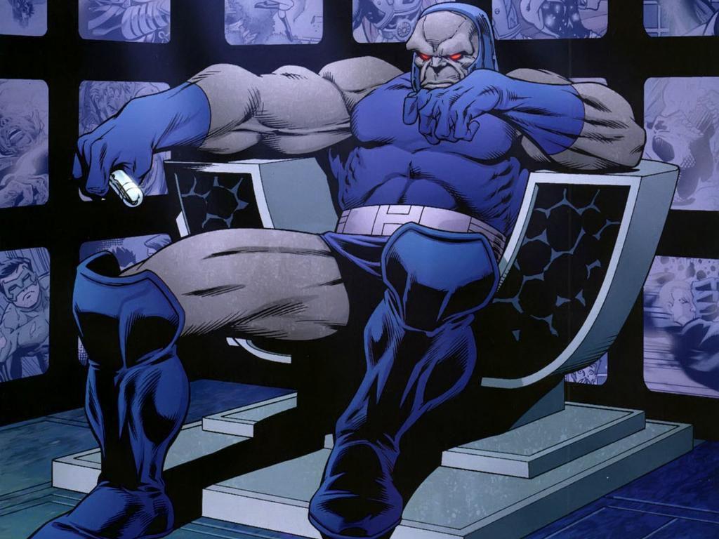 Comic panel of Darkseid