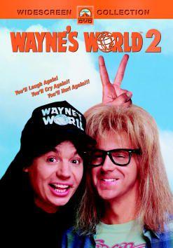 DVD cover art for Waynes World 2