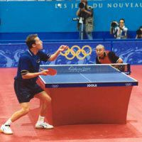 Photo of Jan-Ove Waldner vs Liu Guoliang