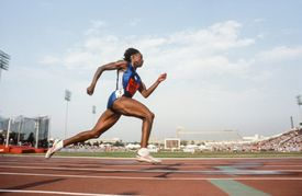 1988 Olympic Trials - Heptathlon 200 meters
