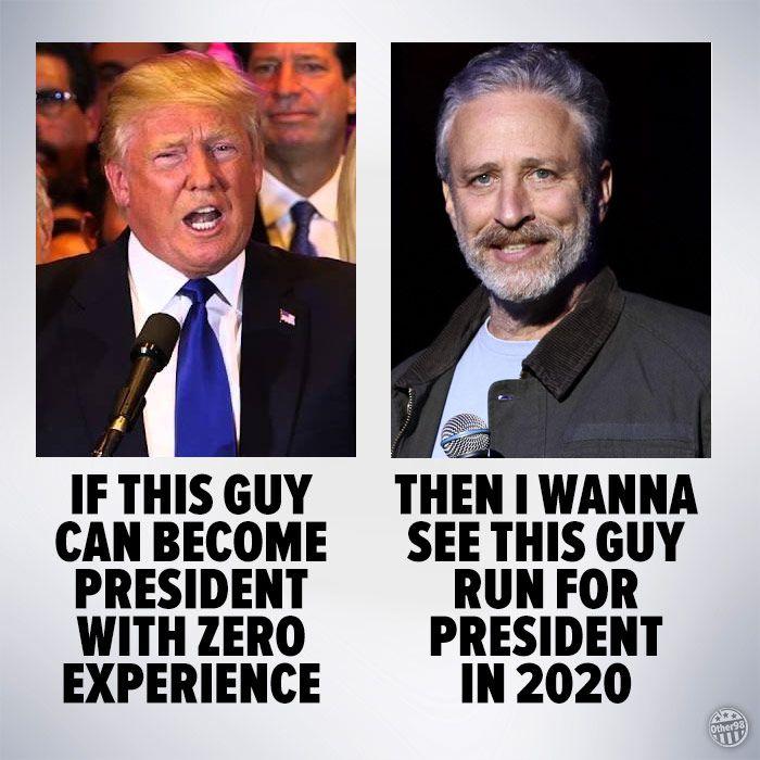 zero experience - Trump meme