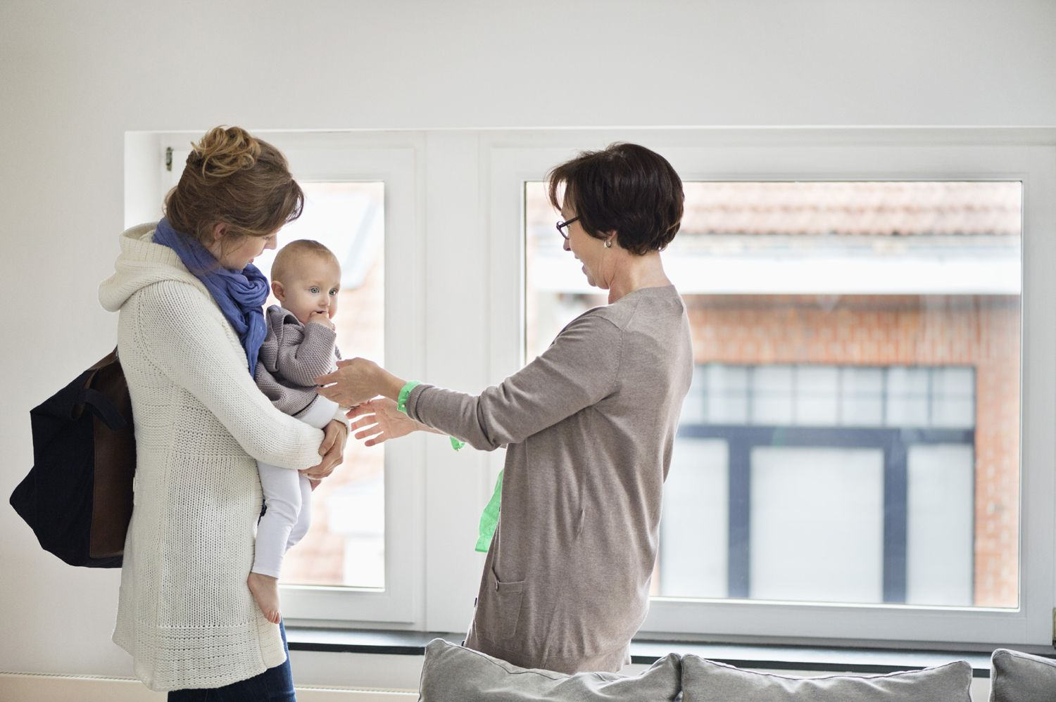Au pair or Nanny with parent and child