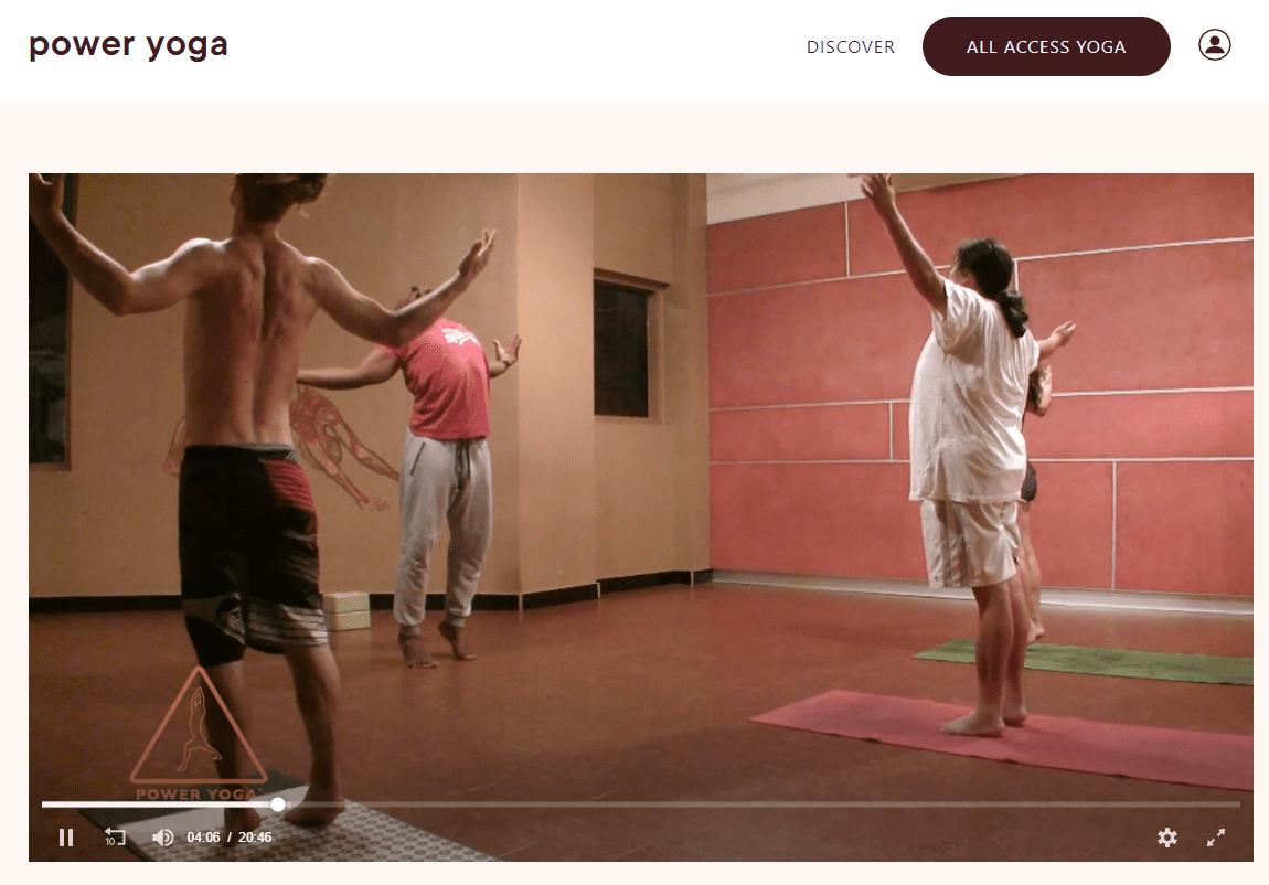 Power Yoga free video