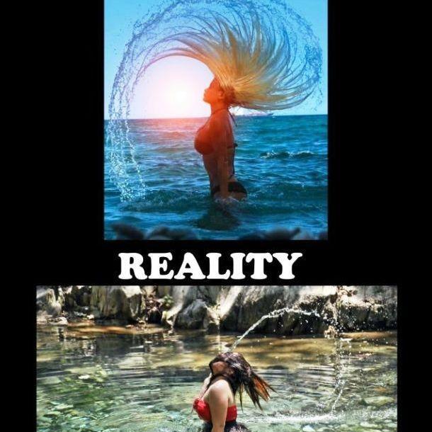 Expectations vs Reality: Mermaid Hair