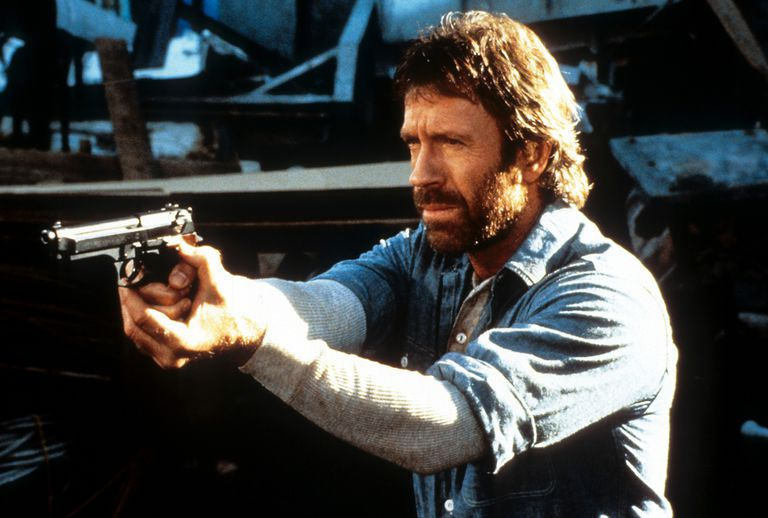 Chuck Norris In 'Hero And The Terror'