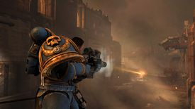 Character shooting in Warhammer 40,000 dawn of war