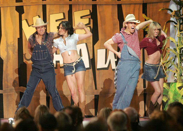 Dancers peform the 'Hee Haw Theme' during 5th Annual TV Land Awards