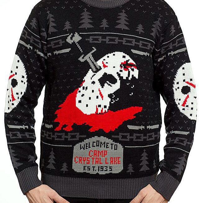 Friday the 13th Ugly Christmas Sweater