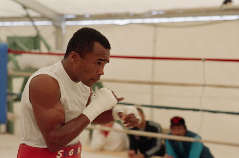 Sugar Ray Leonard Shadowboxing