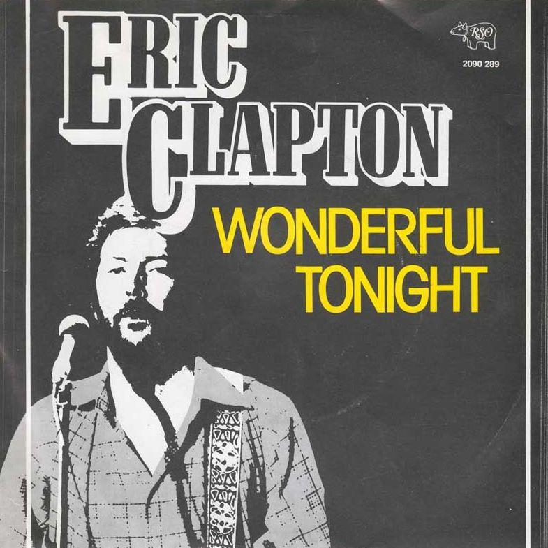 Eric Clapton Wonderful Tonight