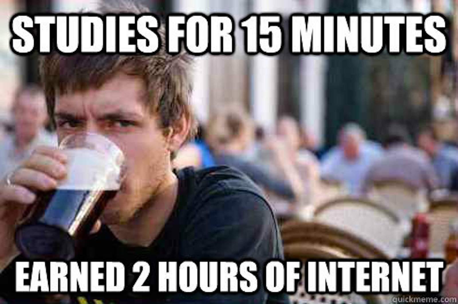 Lazy Senior Student meme