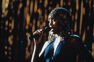 American singer and actress Whitney Houston