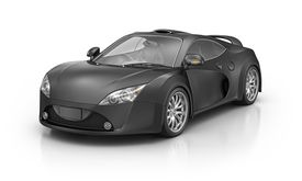 Image of a black sports car, illustrating car sweepstakes at About.com.