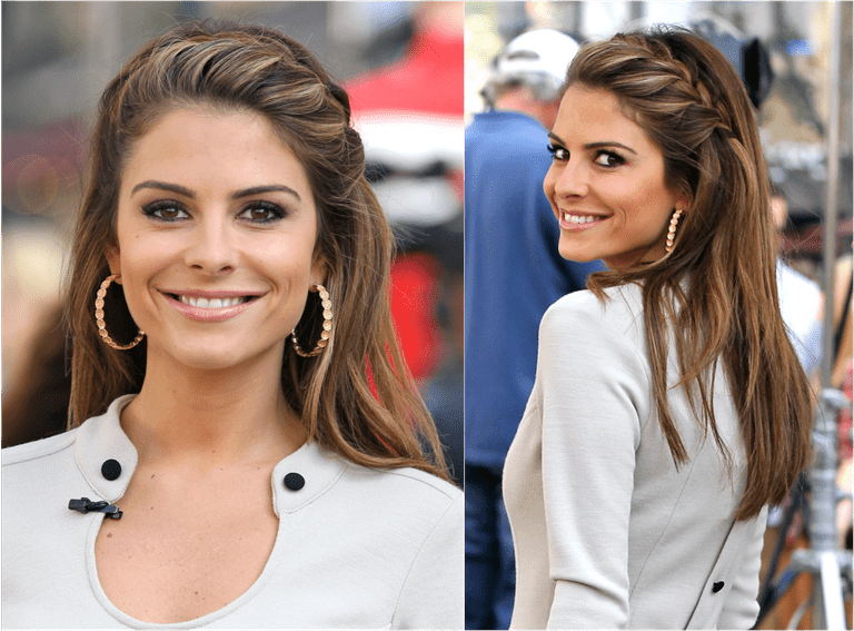 Maria Menounos braid