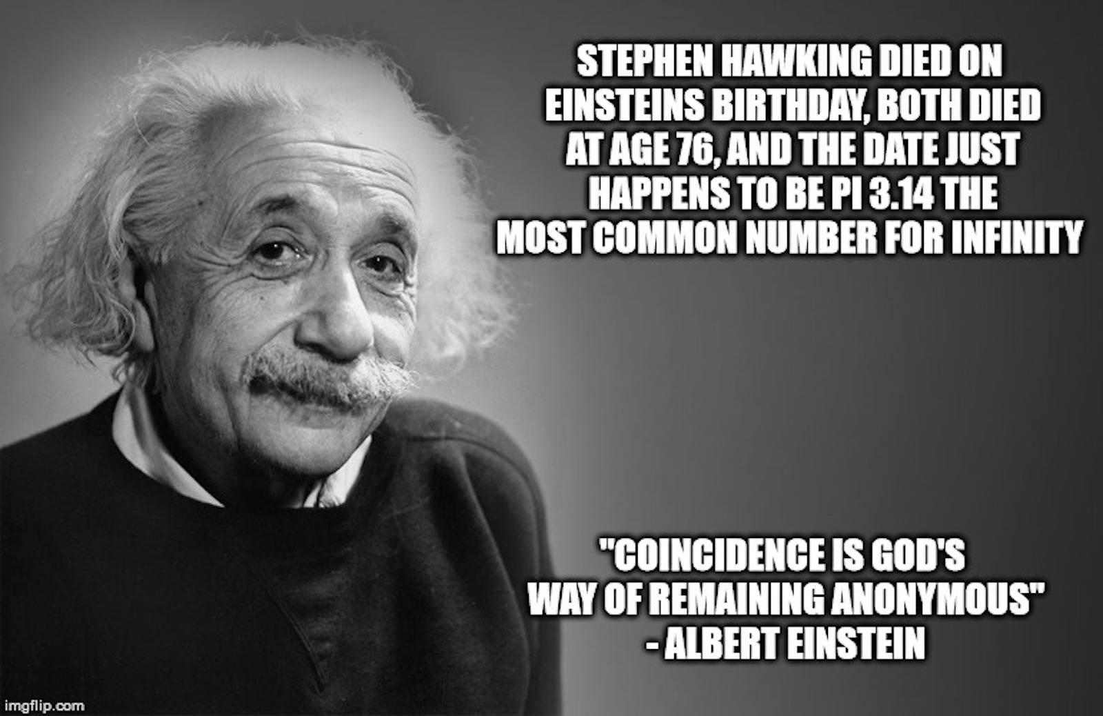 Hawking & Einstein