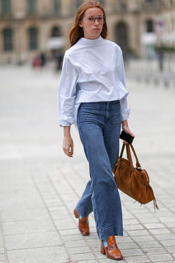 d3c66fa86029 How to Wear Flare Jeans  10 Fashionable Outfit Ideas